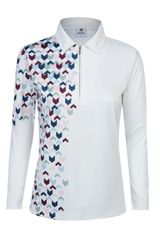 Daily Sports Ladies Cristal Long Sleeve Polo Shirt - 863/130