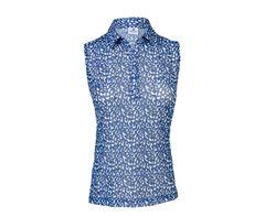 Daily Sports Ladies Bella Mesh Sleeveless Polo Shirt - 943/153