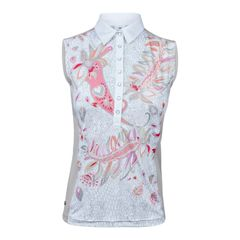 Daily Sports Ladies Lucille Sleeveless Polo Shirt - 843/132