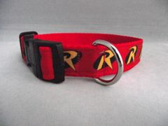 Handmade Robin Dog Collar