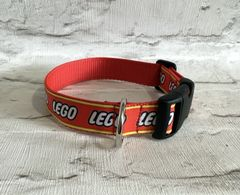 Handmade Lego Dog Collar