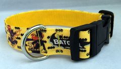 Handmade Bat Girl Dog Collar