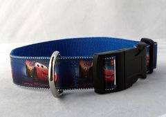 Cars Handmade Dog Collar