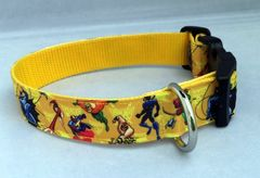 Avengers Handmade Dog Collar