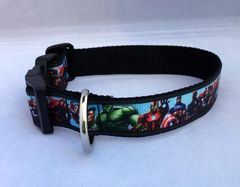 Avengers Dog Collar Small Only one left
