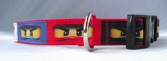 Handmade Ninja Dog Collar