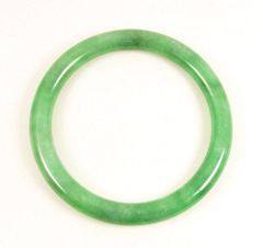 "Jadeite ""A"" grade green bangle"
