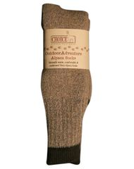 Blue Ridge Alpaca - Choice Alpaca Footwear - Outdoor Adventure Alpaca Socks