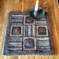 Log Cabin Hit & Miss Mat Pattern