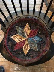 Homestead Star Chair Pad Pattern
