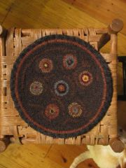 Penny Rug Chair Pad Kit