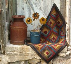 Log Cabin Rug Kit