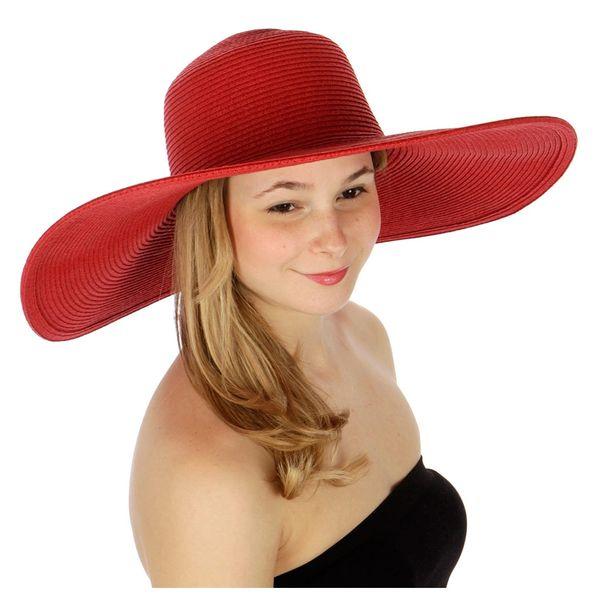 Red Floppy Hat  7379cbaa0cd