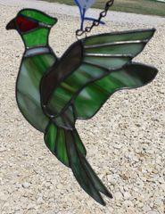 Pheasant sun catcher