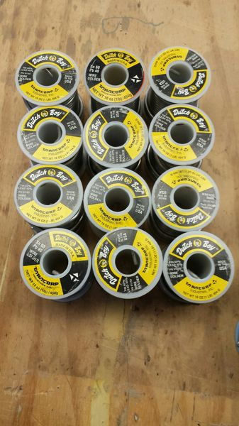 Dutch Boy wire solder, 60/40