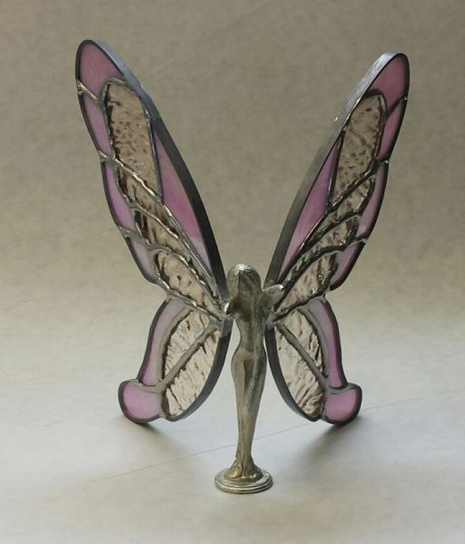 Metal bodied butterfly lady-pinks