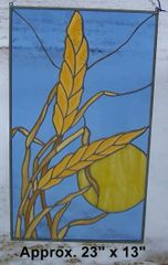 Beveled wheat panel