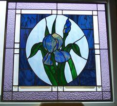 Iris window panel