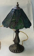 6-sided lamp shade with base