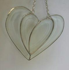 Beveled modern heart