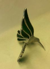 Lead body hummingbird small, green