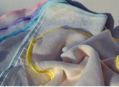 Organic Cotton & Bamboo Velour Baby Wash Cloths
