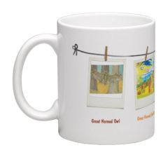 The Birds Variety Prints Collectible Mug