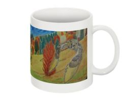 Great Horned Owl II Print Collectible Mug