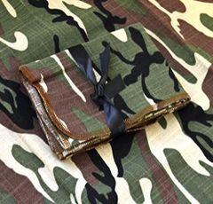 Camouflage Cotton Polyester Napkins-set of 3