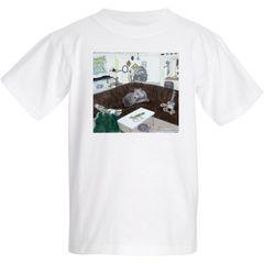 Vance's Zoo Print Kid's Cool Cotton T-Shirt
