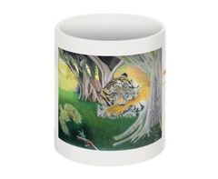 Enchanted Forest Print Collectible Mug