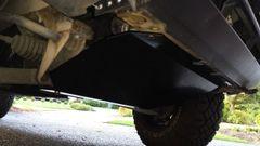 "Front Skidplate 1/4"" Aluminium"