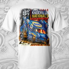 Knoxville Championship Tee - White