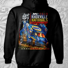 Knoxville Champion Hoodie - Black