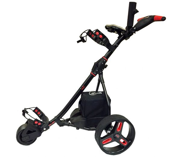 Easy Trek Remote Controlled Electric Golf Caddy Black