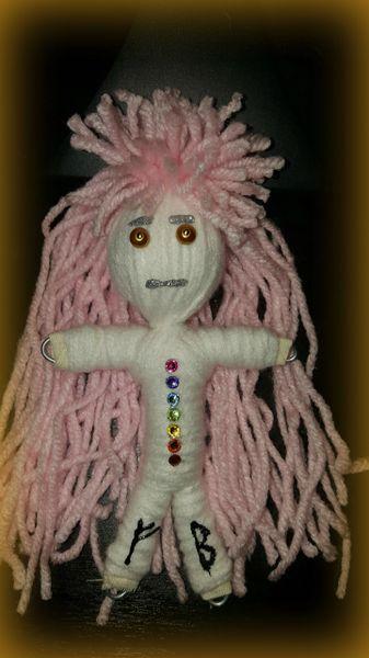 Swarovski Chakra Poppet Female Doll