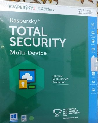 Kaspersky Total Security 1 Device 1 year Subscription For Windows Mac IOS Android ( Email Delivery with in 2 Hours )