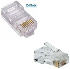 Dlink Ethernet Connector for Cat5 Cat6 Cables ( Genuine Guranteed )