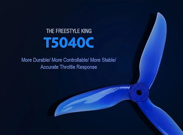 DALPROP T5040C CYCLONE Propeller for FPV Freestyle
