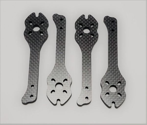 "MAMR 5"" StretchX Carbon Fiber Arms (Optional 5mm Thick)"