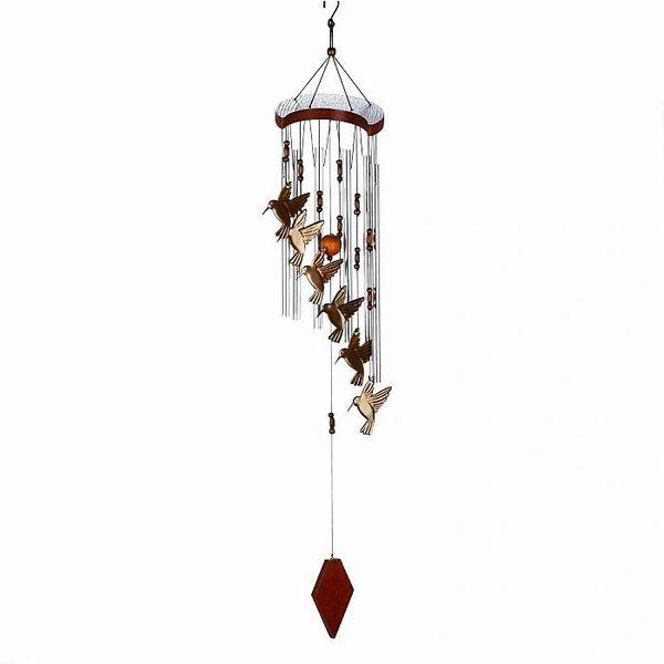 HUMMINGBIRD FLUTTER WIND CHIMES