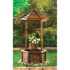 Rustic Wishing Well