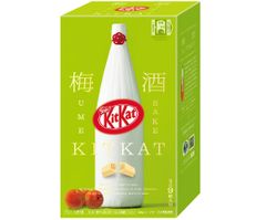 JDM KitKat Plum Wine 9-pack bottle box