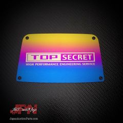 Top Secret x JDM Parts Ninja Titanium Engine cover plate