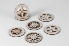 WORK Wheels Coasters