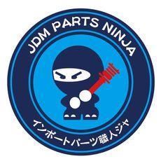 JDM Parts Ninja Round Sticker