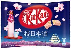 JDM KitKat Sakura Sake 12-pack bag