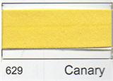 25mm Bias Binding - Canary