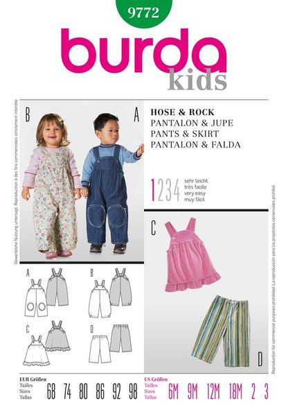 Burda Sewing Pattern - 9772