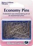Economy Pins: Nickel - 28mm - 150pcs